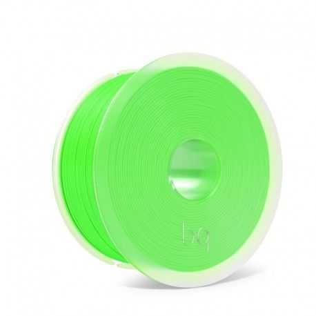 BQ filamento PLA Fluorescente Easy Go 1.75 mm 1 Kg Color Verde