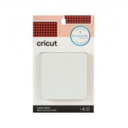 Cricut Infusible Ink Posavasos Cuadrados 4x