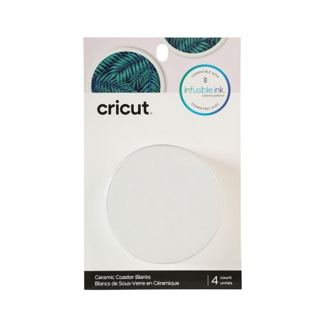Cricut Infusible Ink Posavasos Redondos 4x