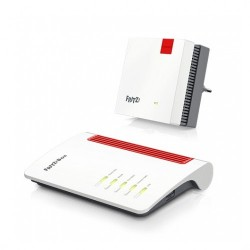 Set FRITZ!MESH Router 7530 + Repetidor 1200