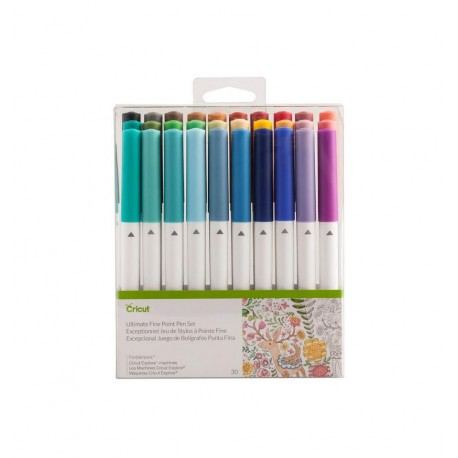 Cricut Set de 30 bolígrafos Ultimate Surtidos